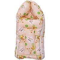 Baby Fly Baby Sleeping Bag (0-6 Months) (Orange Teddy)