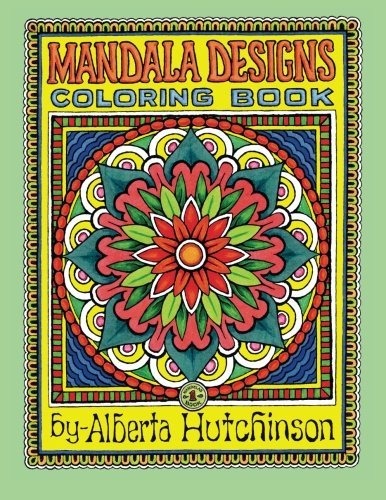 Mandala Designs Coloring Book No 1 35 New Sacred Design Series