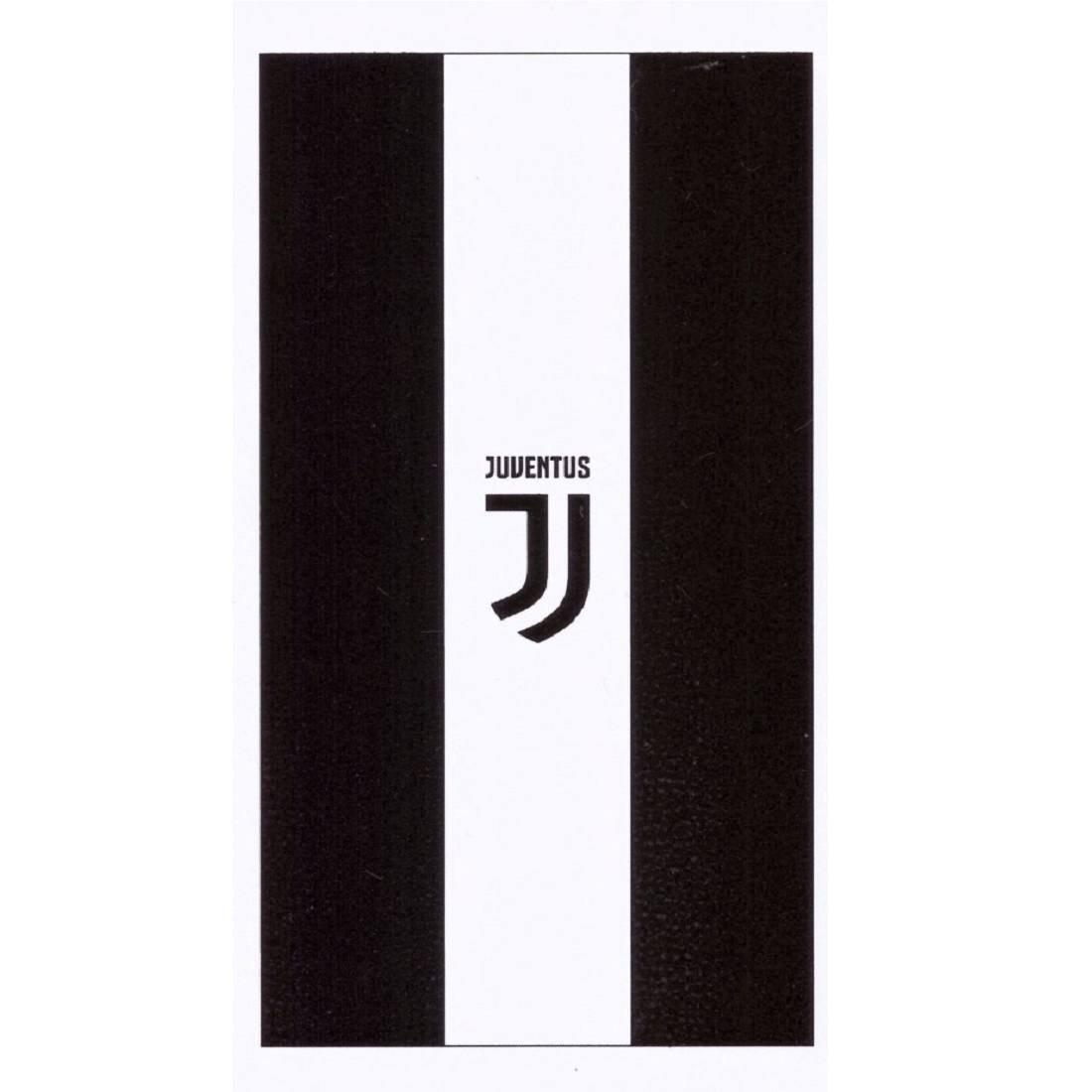 TELO MARE JUVENTUS NUOVO LOGO 70X140 prodotto ufficiale Juventus F.C
