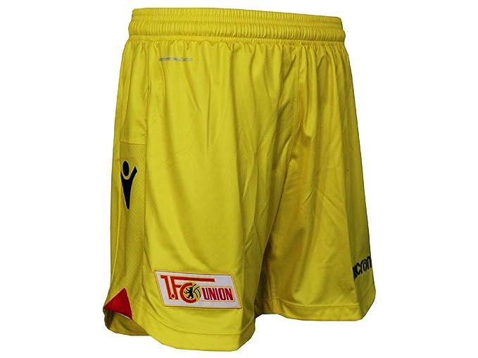 Macron 1.FC Union Berlin Kinder Alternativ Short gelb FCU Spielerhose Fu/ßballhose