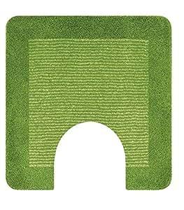 Amazon.com: Spirella Simply Kiwi Green Contour Bath Rug
