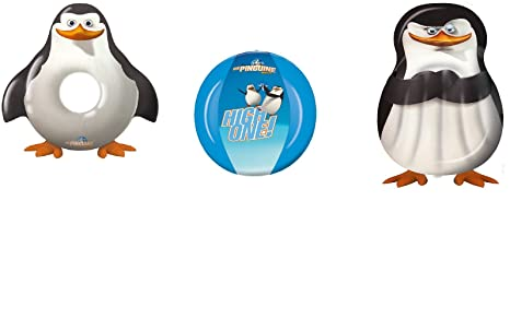 Animales BGE Agua Pass Pingüino de la serie los Pingüinos de Madagascar/el Set Ideal