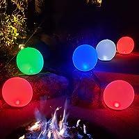 Bola de luces LED inflables de noche Carga