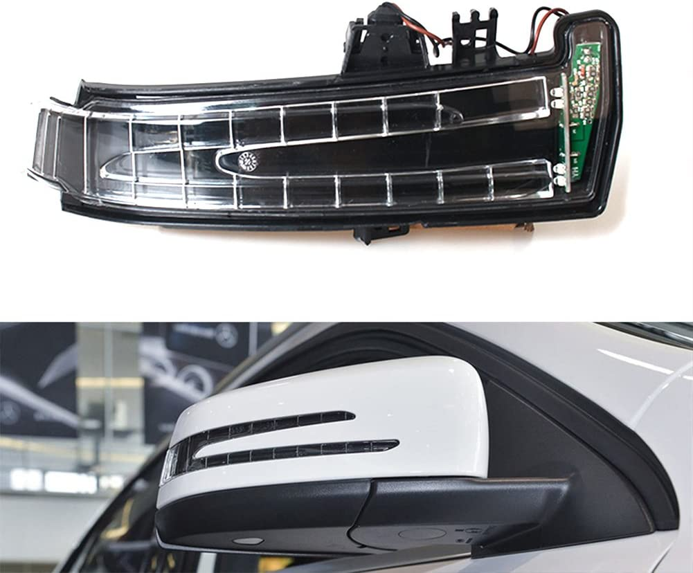 Fit For Mercedes Benz W204 W212 W221 S400 Pair Mirror Turn Signal Light LED