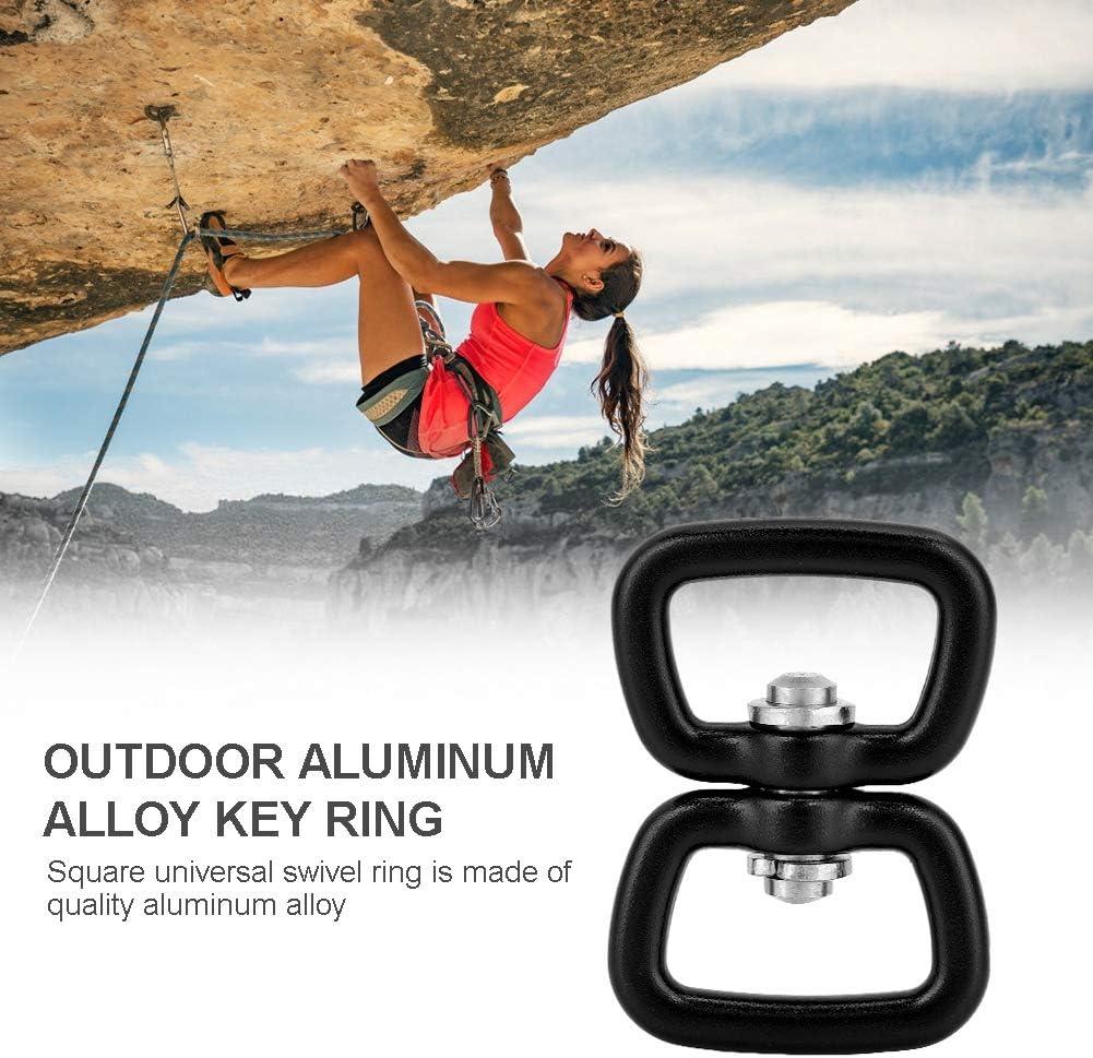 Eye to Eye Swivel Snap Shackle Aluminum Alloy Swivel Eye Snap Shackle for Pet Chanin Camping Climbing Hiking Keychain