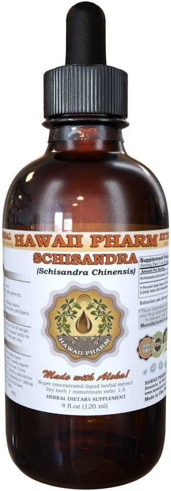 Schisandra Liquid Extract, Organic Schisandra Schisandra Chinensis Tincture 4 oz