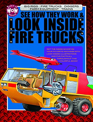 See How They Work & Look Inside Fire Trucks (World of Wonder)
