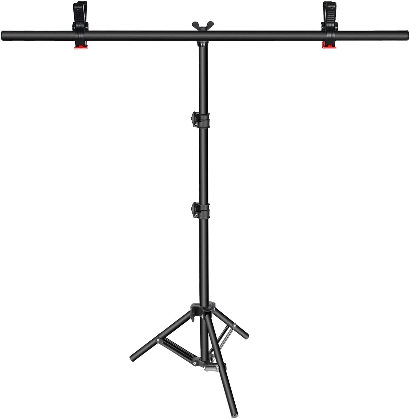 UK Backdrop Stand T Metal PVC Background Photography Support System Clamp