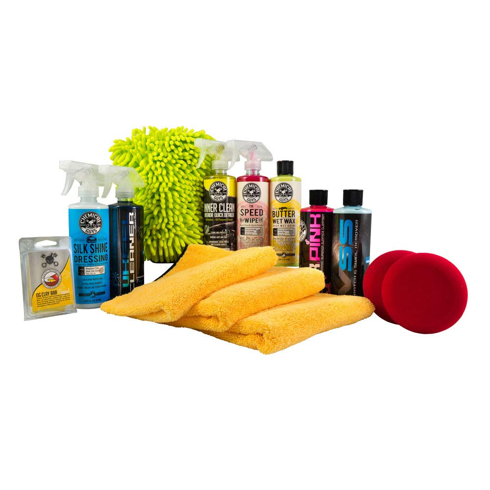 Chemical Guys HOL123 Complete Car Care Kit (14 Items), 112 fl. oz by Chemical Guys (Image #1)