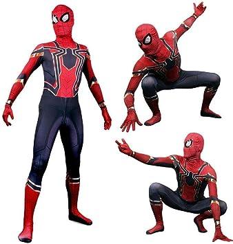 Fting Disfraz de Spiderman Disfraz de Carnaval de Halloween ...
