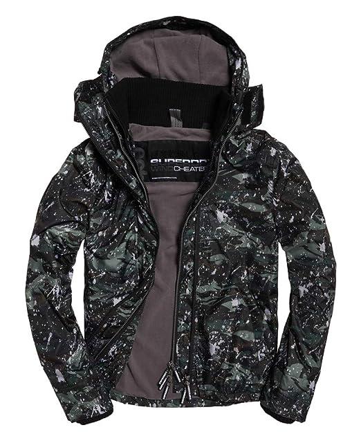 Sd Windcheater Print Mens Zip Hooded Pop Arctic Jacket Mono JuTK1clF3