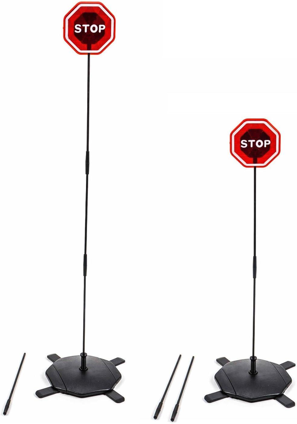 Einparkhilfe Extern Für Garage Oder Carport Blinkt Bei Berührung Fahrtraining Steckmontage Batteriebetrieb Navigation
