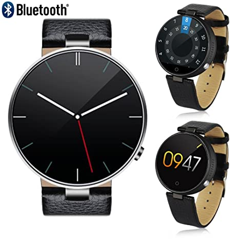 Indigi® Compatible con iOS y Android - Bluetooth SmartWatch ...