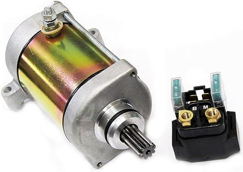 SHUmandala Starter Relay fit Yamaha GRIZZLY 660 YFM660 YFM350 YFM450