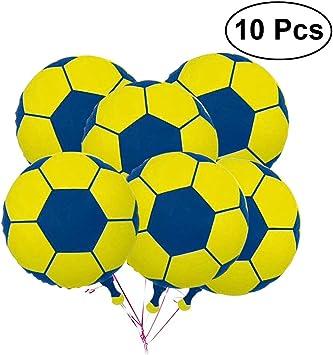 LUOEM 10 Unids balón de fútbol de fútbol balón de fútbol metálico ...