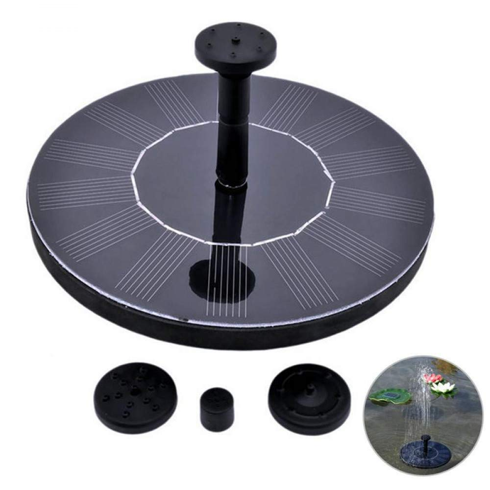HUANGYABO Solar Power Fountain Solar Panel Water Floating Fountain Pump Kit For Kit
