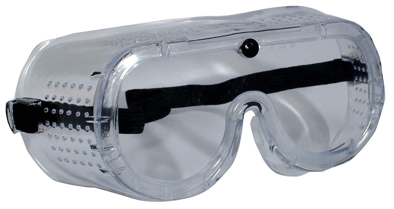 CMC安全ゴーグルDIN EN-166メガネ着用者のための全景サンディングゴーグル  B07JZ3XSG6