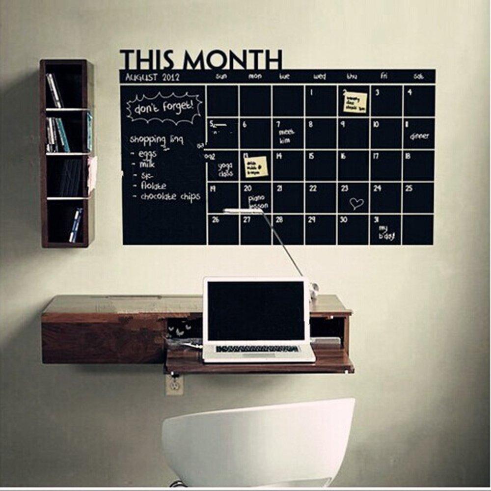 Romote Questo mese Calendario lavagna adesivi murali
