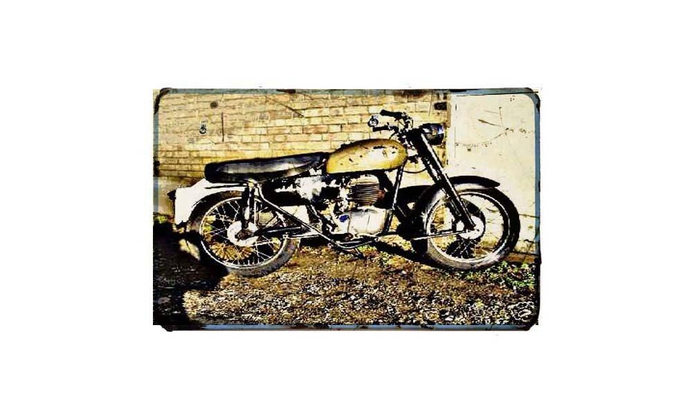 Francis Barnett Motorcycle  Metal Sign//poster