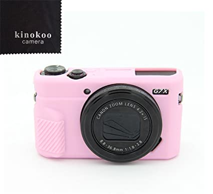 amazon com kinokoo canon g7x ii silicone camera case camera cover