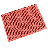 Braille Slate - Full Page - Red and Black