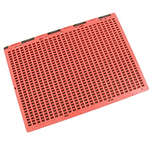 Braille Slate - Full Page - Red and Black by MaxiAids