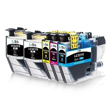 LxTek LC3219XL Reemplazo Compatible para Brother LC3219XL LC3219 Cartuchos de Tinta para Brother MFC-J5330DW MFC-J5335DW MFC-J5730DW MFC-J5930DW ...