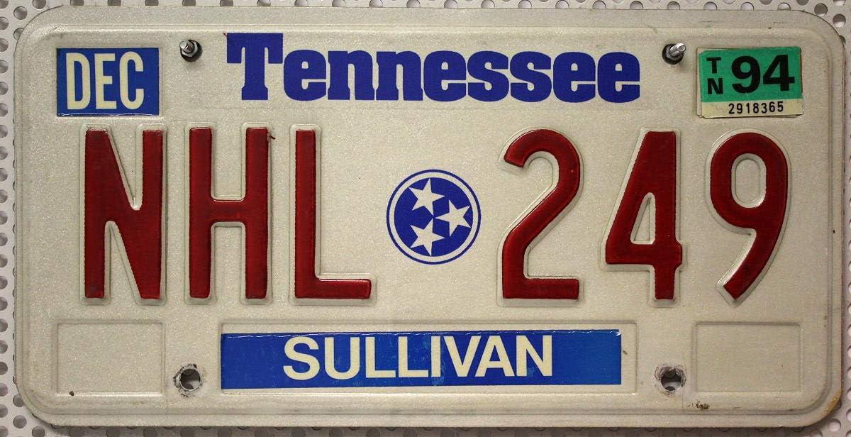 Schild US Nummernschild TENNESSEE Kennzeichen # USA License Plate # Auto