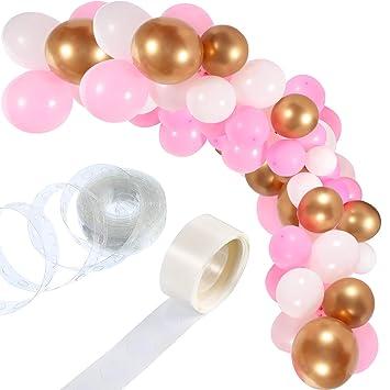 Amazon.com: Kit de guirnalda de globos de 90 piezas con ...