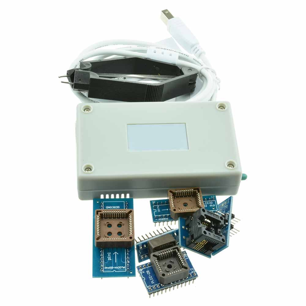 Diymore TL866CS TL866II Plus Programmer USB EPROM FLASH BIOS 6 Adapters  Socket Extractor for 13000 IC