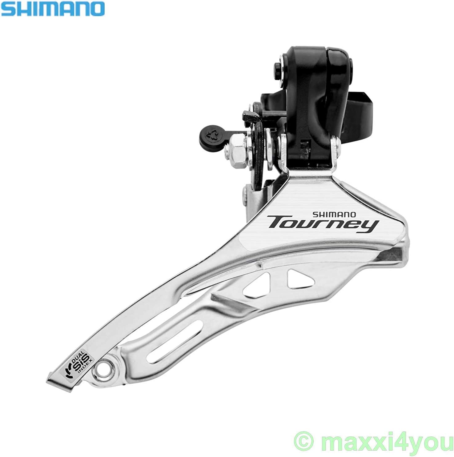 compartment Top Pull Clamp Ø 34,9 MM Shimano Tourney fdty 300 Derailleur 6//7