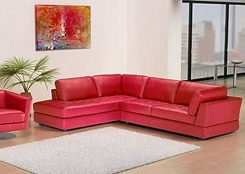 Leathereditions Leder Sofa Garnitur Ecksofa Eck Couch B617