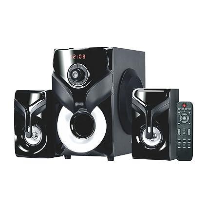 Artis Ms608 2 1 Ch Wireless Multimedia Speaker System With Fm Sd Aux
