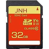 SDカード SDHCカード 32GB JNH 超高速100MB/s(最大転送速度)Class10 UHS-I U1 V10対応 【国内正規品 5年保証】