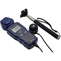 Handheld Quantum PAR Meter Quantum Flux Meter 270 ° Rotatable Detector Measure Photosynthetically Active Radiation with…