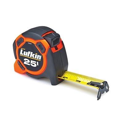 1.Lufkin CS8525 Control Series Power Tape, 1-3/16-Inch by 25-Feet, Orange/Black