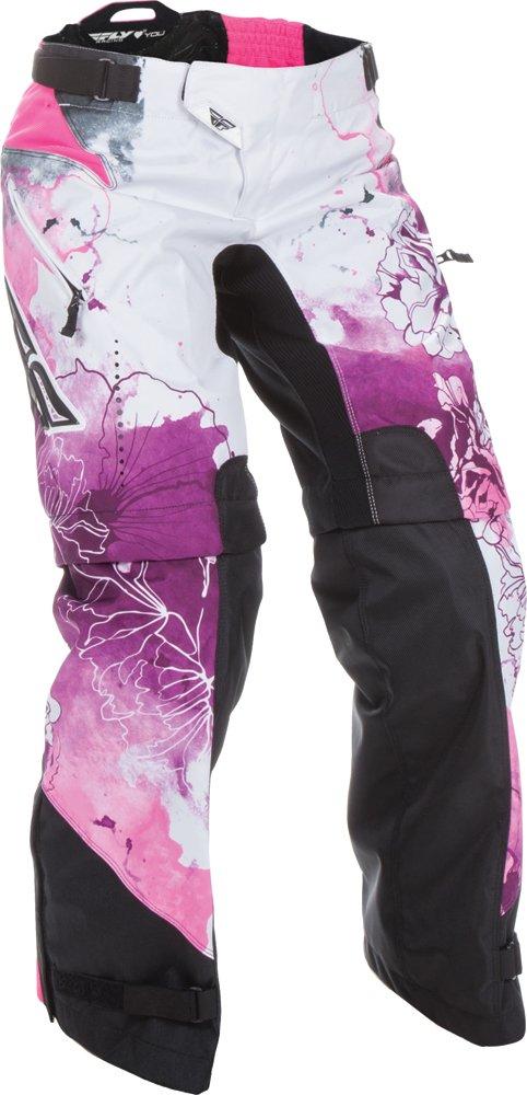Fly Racing Unisex-Adult Kinetic Women's Over Boots Pants Pink/Purple Size 34