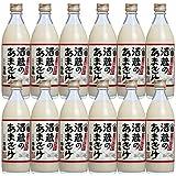 中埜酒造 國盛 酒蔵のあまざけ 500g瓶×12本入