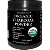 Organic Charcoal Powder - The Only USDA Certified Organic. Food Grade Powder, Non-GMO, Vegan, No Fillers 100% Pure Use…