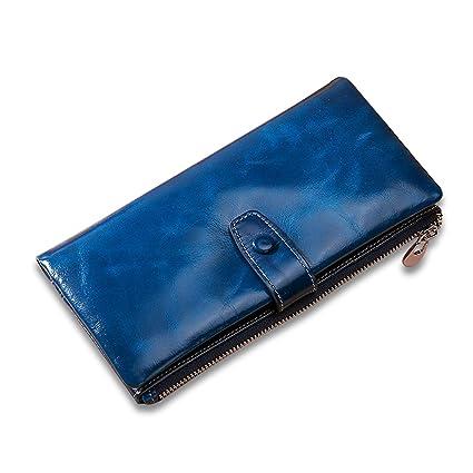 FANDARE Moda Billetera con RFID Carteras para Mujer ...