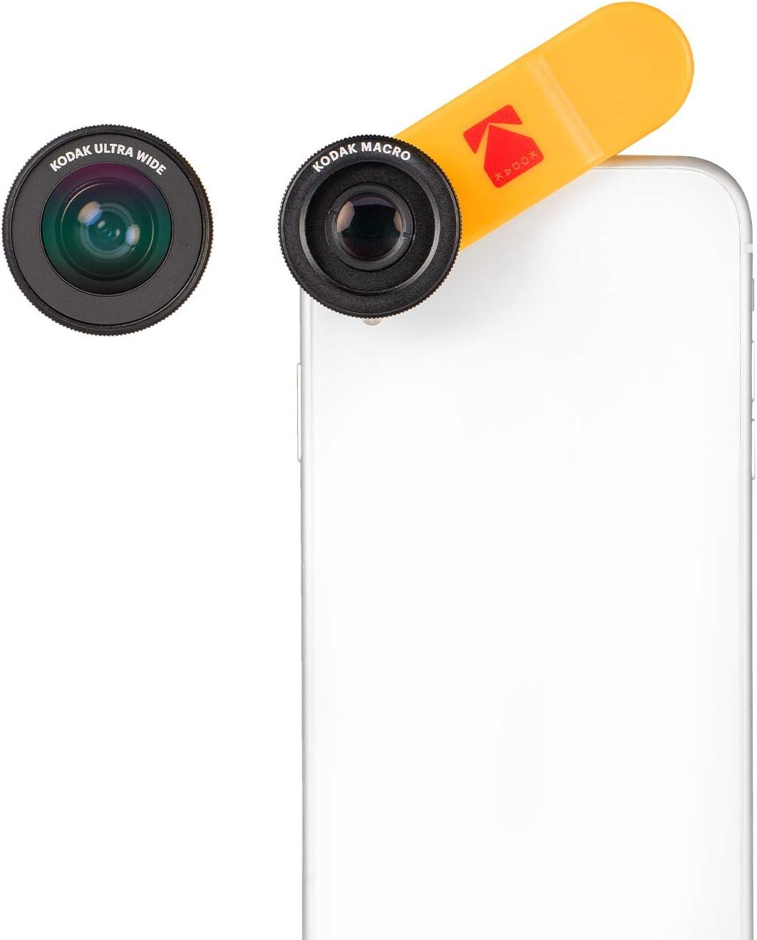 Kodak 2 In 1 Vorsatzlinsen Set Für Smartphones Elektronik
