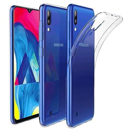 AILZH Compatibles para Funda Samsung Galaxy M10 Transparente ...
