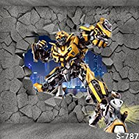 GladsBuy Transformer Bumblebee 10 x 10 Computer Printed Photography Backdrop Other Theme Background S-787