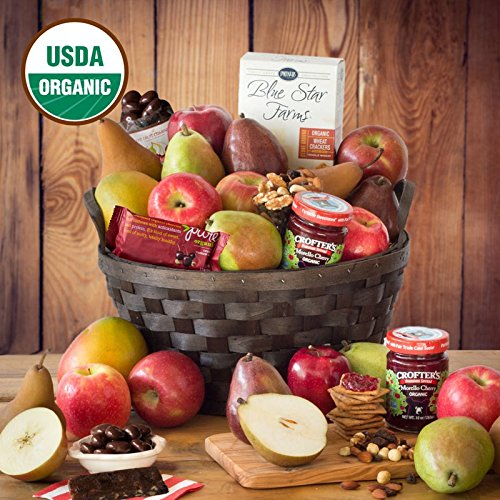 Organic Fruit Jubilee Basket - The Fruit Company