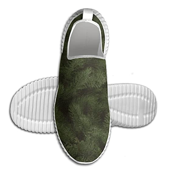 Custom Hustle Print Men's Low-Top Soft Net Cloth Fashion Running Shoes