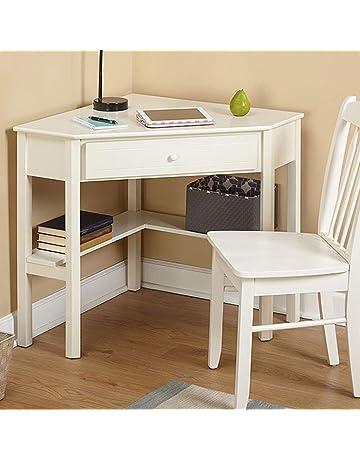 Dual Desk Bookshelf Small Study Wood Corner Desk4homart Corner Computer Desk With One Storage Drawer And One Shelves Amazoncom Kids Desks Amazoncom