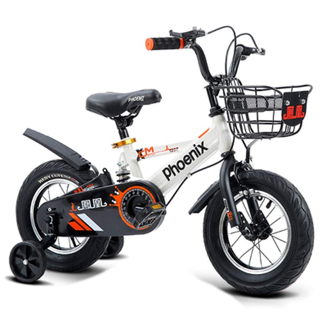 【即納】 子供の自転車 男の子と男の子のペダルの自転車 : 屋外の遠出子供の自転車 16 B07PZ33SDP 子供のペダルの自転車 2-10歳子供のファッション自転車 (Color : 白, Size : 16 inches) 16 inches 白 B07PZ33SDP, カワジママチ:ccbe6584 --- senas.4x4.lt