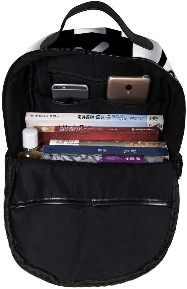 MAPOLO Laptop Backpack Lock Casual Shoulder Daypack for Student School Bag Handbag Lightweight