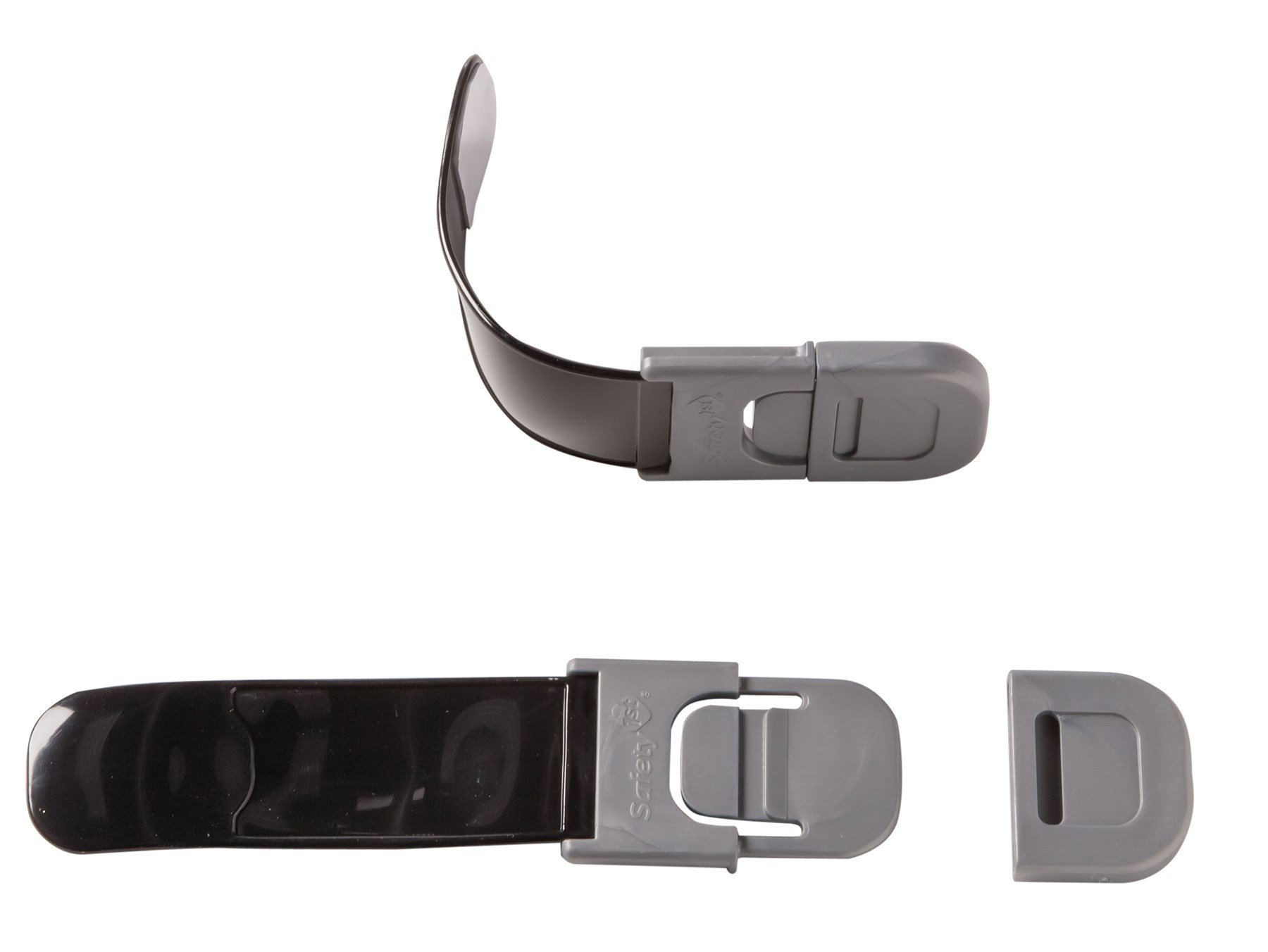 Safety 1st HS148 Black Multi-Purpose Appliance Lock 2 Count