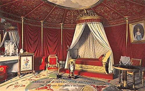 Empress Josephine's Bedroom Malmaison France Postcard (Bedroom Empress)